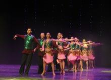 班格洛拉丁舞蹈印度记忆这奥地利的世界舞蹈 库存照片