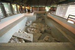 班清是一个考古学站点在乌隆府,联合国科教文组织世界遗产自1992年以来 免版税库存照片