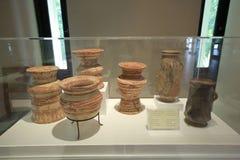 班清是一个考古学站点在乌隆府,联合国科教文组织世界遗产自1992年以来 图库摄影
