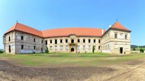 班菲城堡 免版税图库摄影