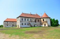 班菲城堡 免版税库存图片
