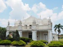 班达尔宫殿Istana Alaeddin Jugra 免版税库存图片