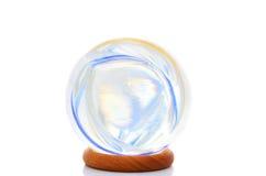 球上色水晶 免版税库存照片