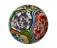 球五颜六色的橡胶 免版税库存图片