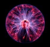 球五颜六色的等离子 库存图片