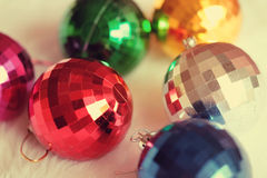 球五颜六色的镜子 免版税库存图片