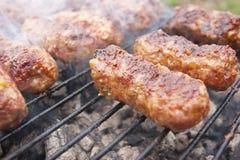球传统食物的肉 免版税库存照片
