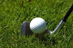 球俱乐部高尔夫球 库存图片