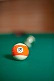 球台球五颜六色的集 图库摄影
