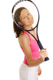 球员网球妇女 库存照片