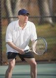 球员网球 免版税图库摄影