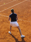 球员网球 免版税库存图片