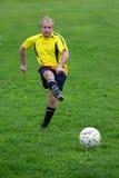 球员足球 免版税库存照片