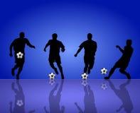 球员足球 免版税图库摄影