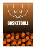球和篮球场 球批次 3d背景篮球被回报的例证可实现 向量例证