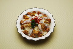 球圆白菜汉语断送肉汤 免版税库存图片
