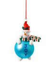 球圣诞树 免版税库存照片
