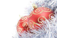 球圣诞节二 库存图片