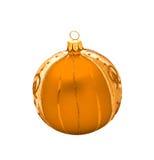 球圣诞节查出 免版税库存照片