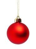 球圣诞节红色 图库摄影