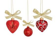 球圣诞节裁减路线 免版税库存图片