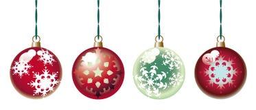 球圣诞节装饰物 库存图片