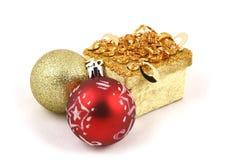 球圣诞节详细资料 免版税图库摄影