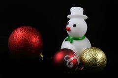 球圣诞节详细资料 库存照片