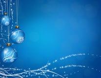 球圣诞节问候 免版税库存图片