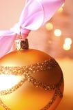 球圣诞节 库存照片