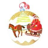 球圣诞节 皇族释放例证