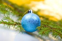 球圣诞节xmas 库存照片
