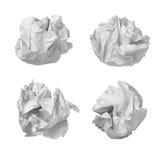 球失败办公室纸张浪费 免版税库存图片