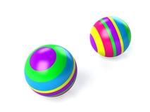 球子项上色了s 库存图片