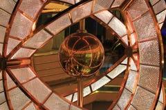 球形和玻璃 免版税图库摄影