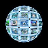 球形球 免版税图库摄影