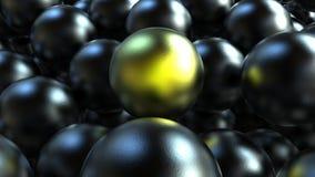 球形站立概念 免版税库存图片