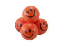 球微笑 库存照片