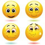 球微笑 库存例证