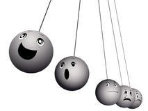 球情感表示 向量例证