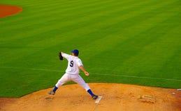 球投手 免版税图库摄影