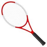 球拍网球 库存照片