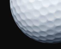 球接近的高尔夫球 免版税图库摄影
