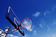 球新篮子的净额 免版税库存照片