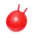 球明亮的袋鼠红色 库存照片