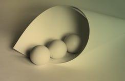 球曲线 图库摄影