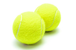 球查出网球 免版税库存图片