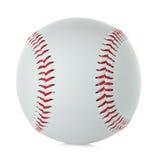 球棒球查出的白色 免版税库存照片