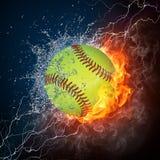 球棒球 库存图片