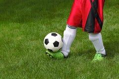 球橄榄球足球 库存照片